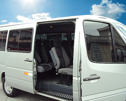 Aluguel de vans para viagens