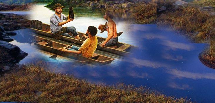 imagem que apareceu das águas